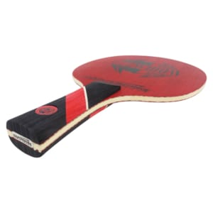 Carbon Table Tennis Blade | Red Widow | Ping Pong Blade | Professional Table Tennis Blade | Tournament Ready | ITTF Approved | Carbon Blade | Offensive Table Tennis Blade | Offensive Ping Pong Blade | Side View