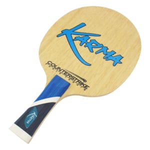 Defensive Table Tennis Blade | Karma | Ping Pong Blade | Professional Table Tennis Blade | Tournament Ready | ITTF Approved | DEF | Front View