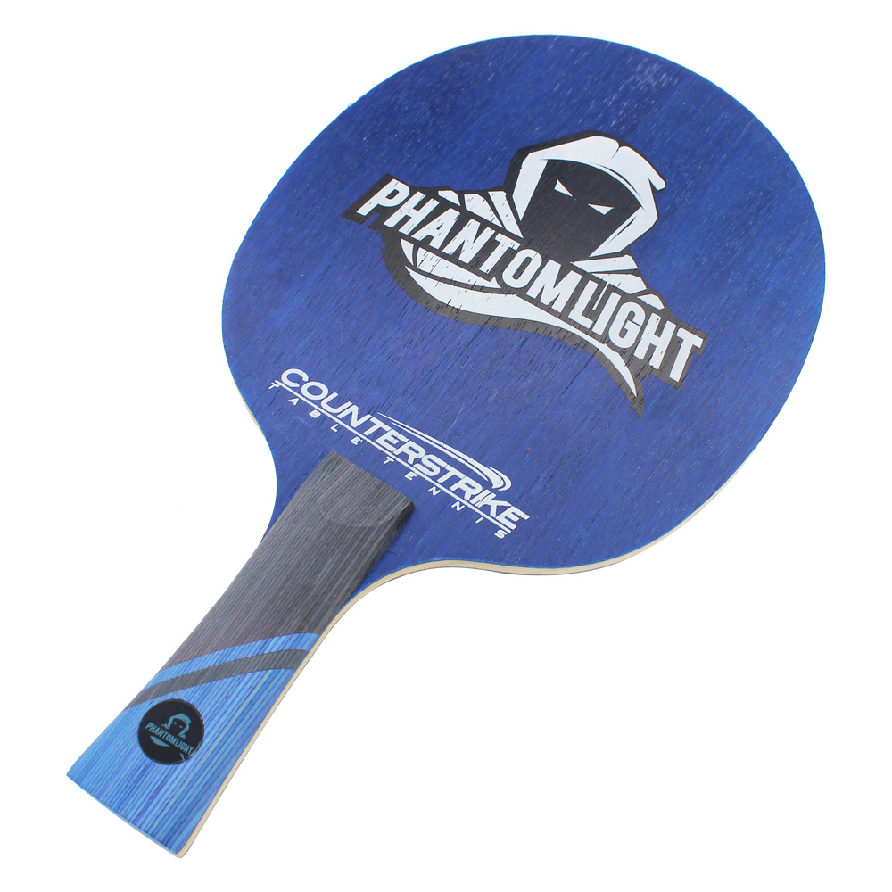 Table Tennis Blade   Phantom Light   Ping Pong Blade   Professional Table Tennis Blade   Tournament Ready   ITTF Approved   Carbon Blade   Offensive Table Tennis Blade   Offensive Ping Pong Blade   Front View