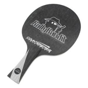 Table Tennis Blade | Rally Bandit | Ping Pong Blade | Professional Table Tennis Blade | Tournament Ready | ITTF Approved | Carbon Blade | Looping Blade | Front View