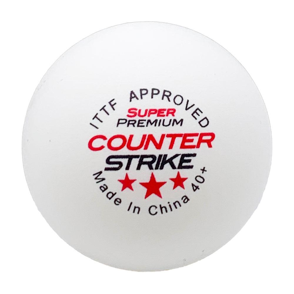 Super Premium Table Tennis Balls | CounterStrike Table Tennis | Ping Pong Balls | 40+