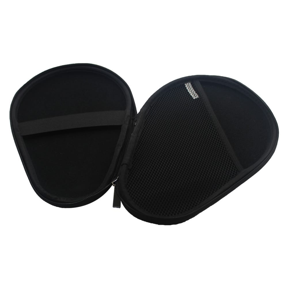 Table Tennis Paddle Hard Case | Ping Pong Paddle Hard Case | Water Resistant | Inside | Angle View
