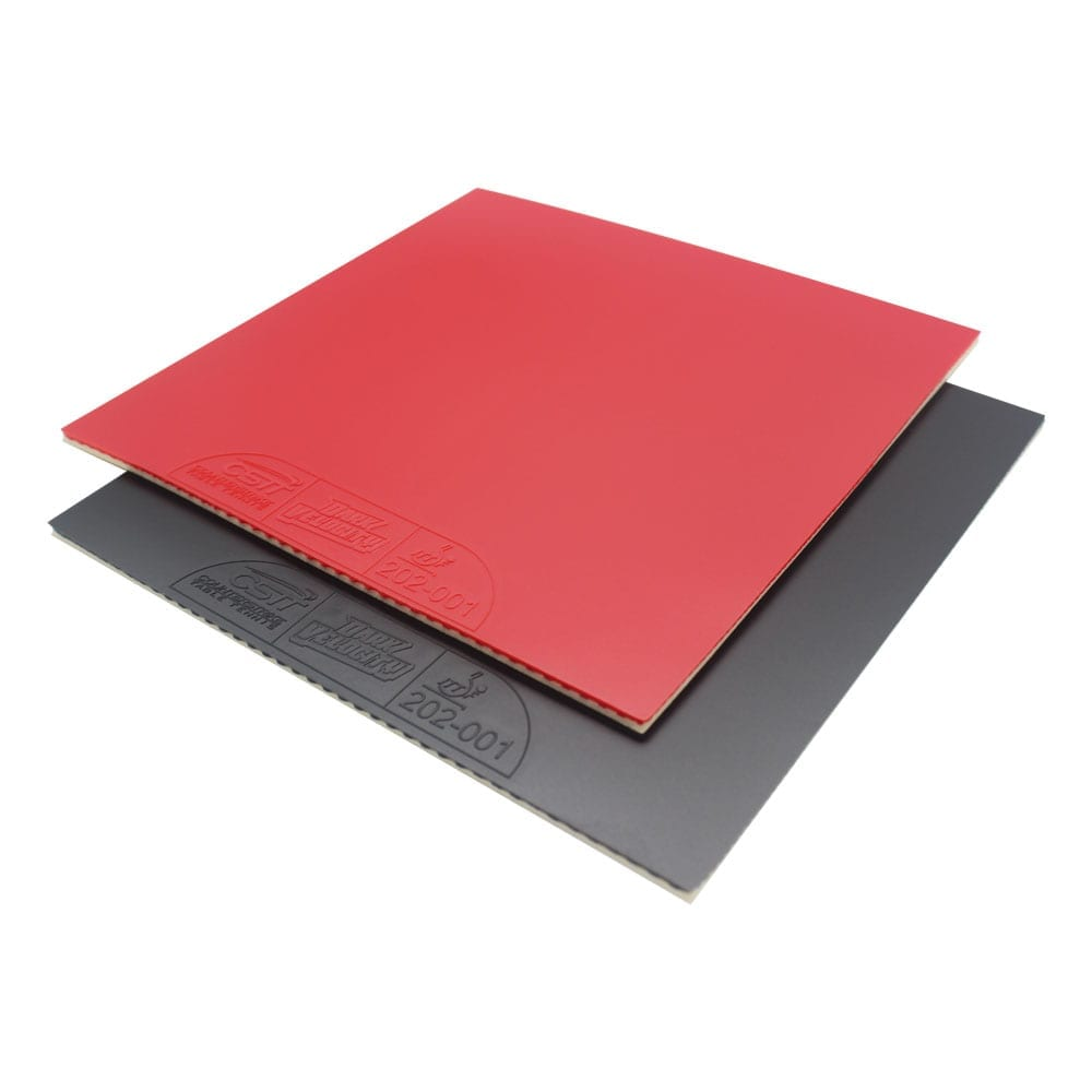 Table Tennis Rubber | Dark Velocity | Ping Pong Rubber | ITTF Approved | Tournament Legal Table Tennis Rubber | Professional Table Tennis Rubber | Inverted Rubber | Smooth Rubber | Red and Black