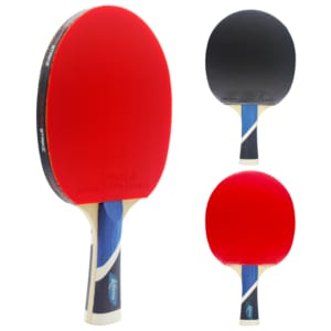 Karma Paddle (Auto Pilot Rubber) | Pre-Assembled Paddles | Pre-Made Paddles | Table Tennis Paddles | Ping Pong Paddles | CounterStrike Table Tennis | Vertical Side and Back and Front