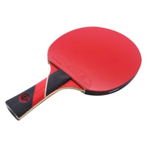 Red Widow Paddle (Dark Velocity Rubber)   Pre-Assembled Paddles   Pre-Made Paddles   Table Tennis Paddles   Ping Pong Paddles   CounterStrike Table Tennis   Side