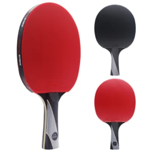 Rally Bandit Paddle (Spin Mystic Rubber)   Pre-Assembled Paddles   Pre-Made Paddles   Table Tennis Paddles   Ping Pong Paddles   CounterStrike Table Tennis   Side Vertical and Back and Front