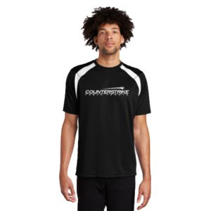 CounterStrike Black Table Tennis Team Shirt   Black Table Tennis Shirt   Black Ping Pong Shirt