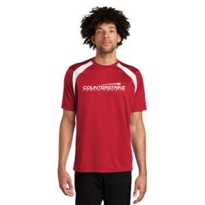 CounterStrike Red Table Tennis Team Shirt | Red Table Tennis Shirt | Red Ping Pong Shirt
