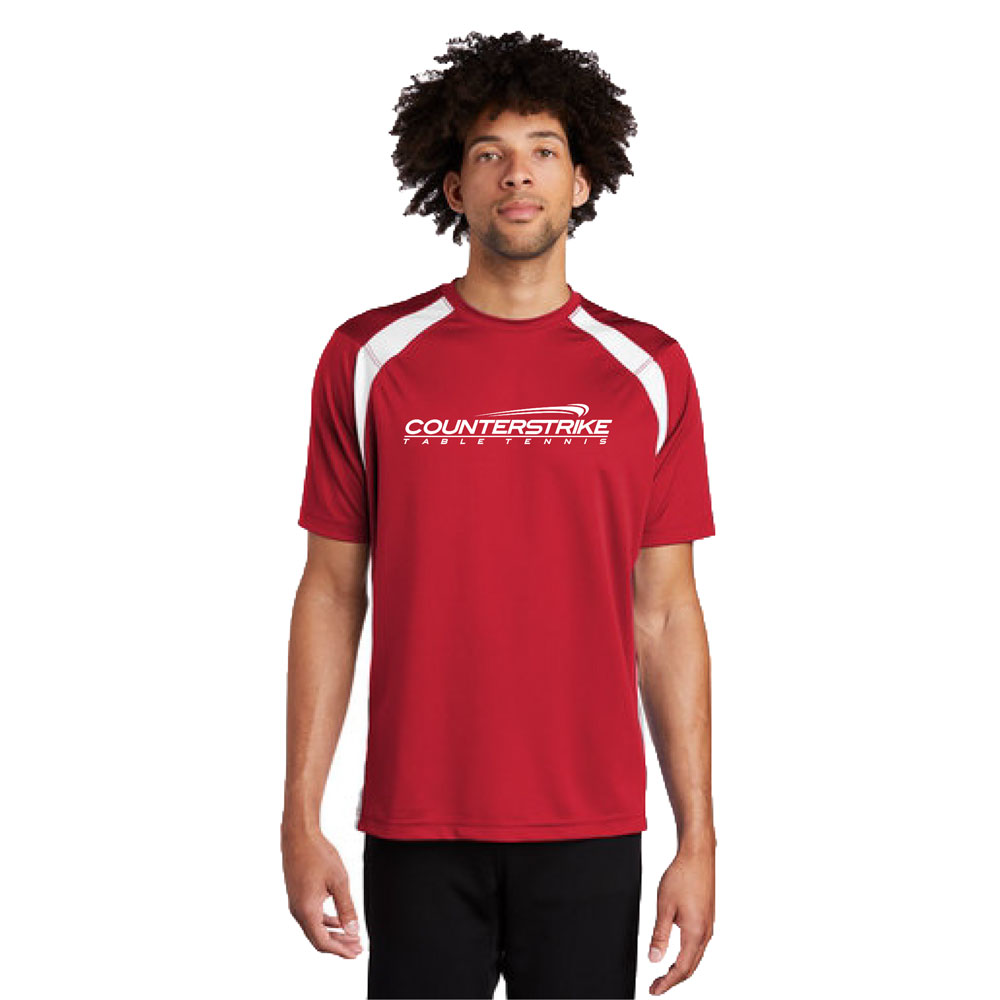 CounterStrike Red Table Tennis Team Shirt   Red Table Tennis Shirt   Red Ping Pong Shirt